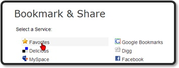 Does your AddThis.com button really bookmarks your blog?