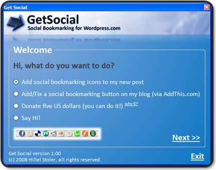 GetSocial v1.00 screenshot