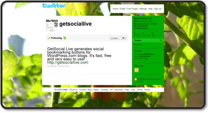 Follow GetSocial Live @ Twitter
